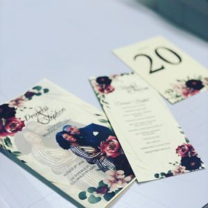 Wedding Invitations - PSPrint|Design,Print&MarketingSolutions Signs&BannerService·ScreenPrinting&Embroidery·GraphicDesigner